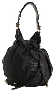 CC SKYE Leather Gold Hardware Los Angeles Rocker Hobo Bag