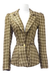 Von Vonni Von Vonnie Gold Suit Jacket