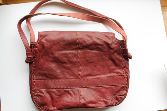 Lucky Brand Leather Shoulder Purse Hobo Bag