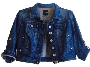 Highway Jeans Dark Blue Womens Jean Jacket