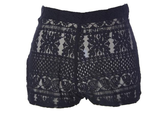 Item - Black Crochet Cover-up/Sarong Size 8 (M)