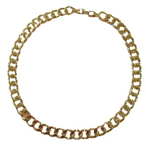 Napier Gold heavy chain necklace