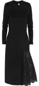 Stella McCartney Crochet Embroidered Jersey Dress