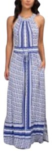 Blue white Maxi Dress by Calvin Klein Maxi 14