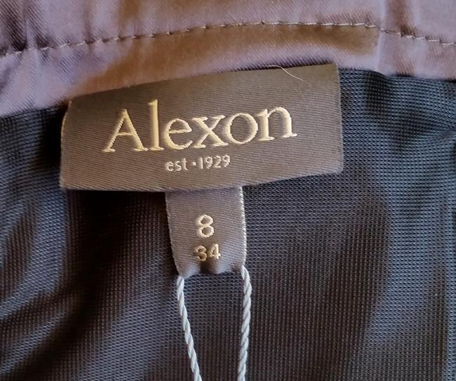 Alexon Satin Pleated Cocktail Slimming Dress