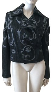 Marchesa Voyage Black Jacket
