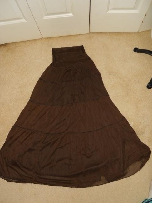 BCX Maxi Skirt brown