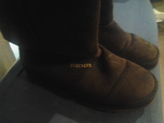 Skechers Dark Brown Boots