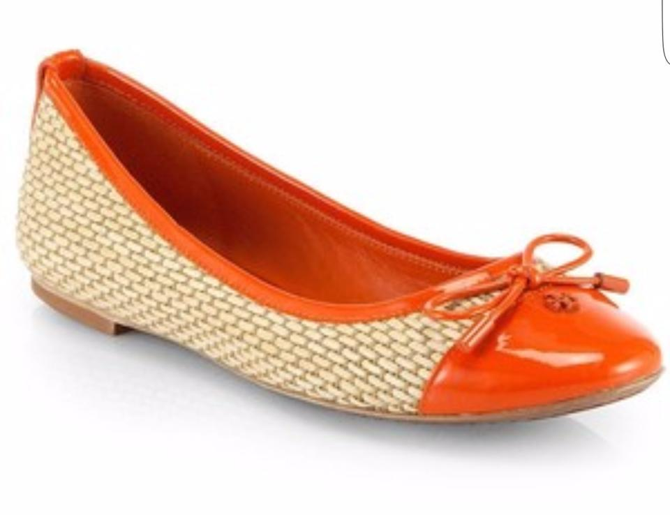 Flats Burch Orange Ballet Catharine Tory g7w6WZqg