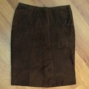 Roberta Roller Rabbit Skirt Chocolate Brown