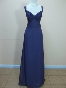 Impression Bridal Lavender Chiffon 1630 Formal Bridesmaid/Mob Dress Size 12 (L)