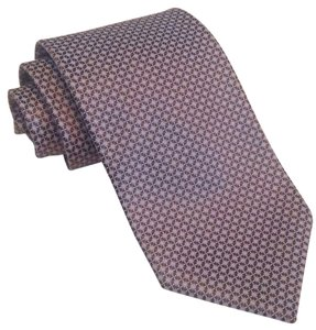 Ermenegildo Zegna Mens 100% silk tie Made in Italy