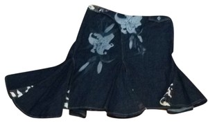 AKDMKS Skirt Dark Blue Denim