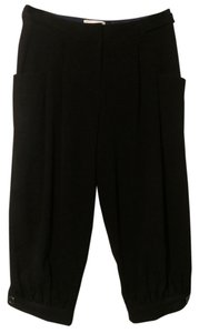 Elevenses Anthropologie Cropped Capris Black