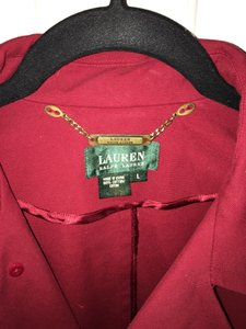 Ralph Lauren Cotton Spring Red Jacket