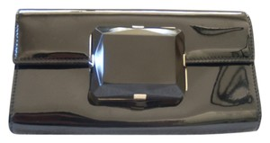 Gucci BLACK PATENT LEATHER GUCCI WALLET