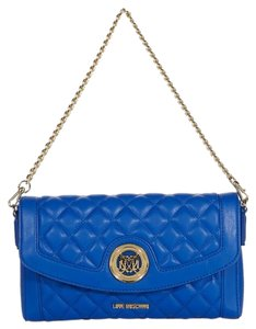 Moschino Sell Satchel in blue