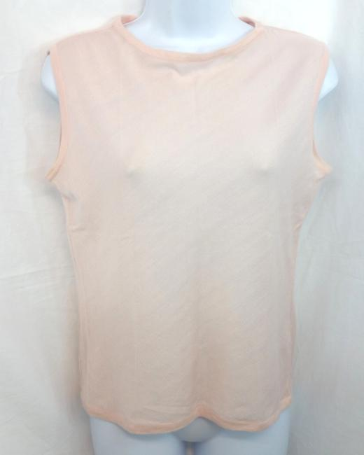 Item - Pink Cashmere Collection By Sleeveless Knit M Blouse Size 8 (M)