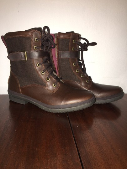 7606ea4177f UGG Australia Dark Reddish Brown Kesey Model # 1005264 Waterproof  Boots/Booties Size US 8 47% off retail