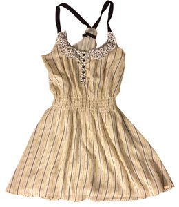 Patterson J. Kincaid short dress Yellow, tan on Tradesy