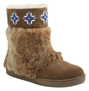 Tory Burch Fur Lafayette Embroidered Boots