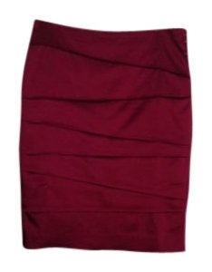 White House | Black Market Skirt Magenta