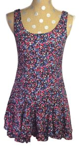 Free People short dress Floral Mini on Tradesy