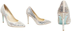 Betsey Johnson Champagne Pumps