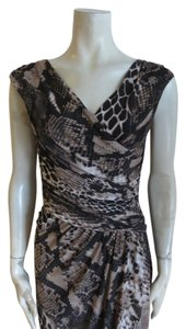 Ralph Lauren short dress snake print on Tradesy