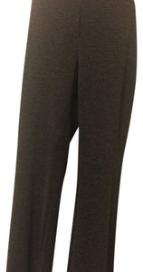 New York & Company Straight Pants Black/White