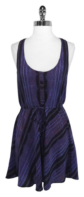 Twelfth St. by Cynthia Vincent short dress Purple Street Silk on Tradesy