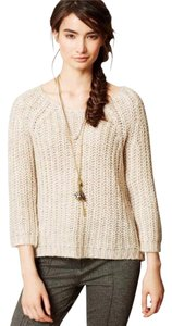 Anthropologie Knitted And Knotted Wide Knit Sweater