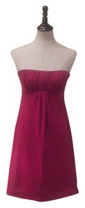 Susana Monaco short dress Burgundy / dark fuschia on Tradesy