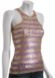 Miss Sixty Top Purple & Gold