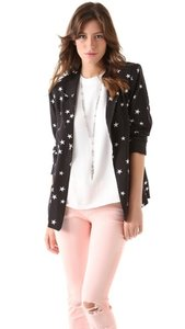 Patterson J. Kincaid Kardashian Stars Black and White Blazer