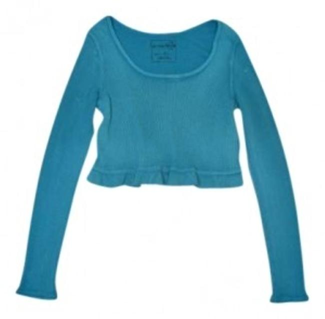 Preload https://item4.tradesy.com/images/free-people-blue-sweaterpullover-size-8-m-139373-0-0.jpg?width=400&height=650