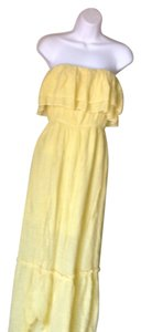 Yellow Maxi Dress by Ya Los Angeles