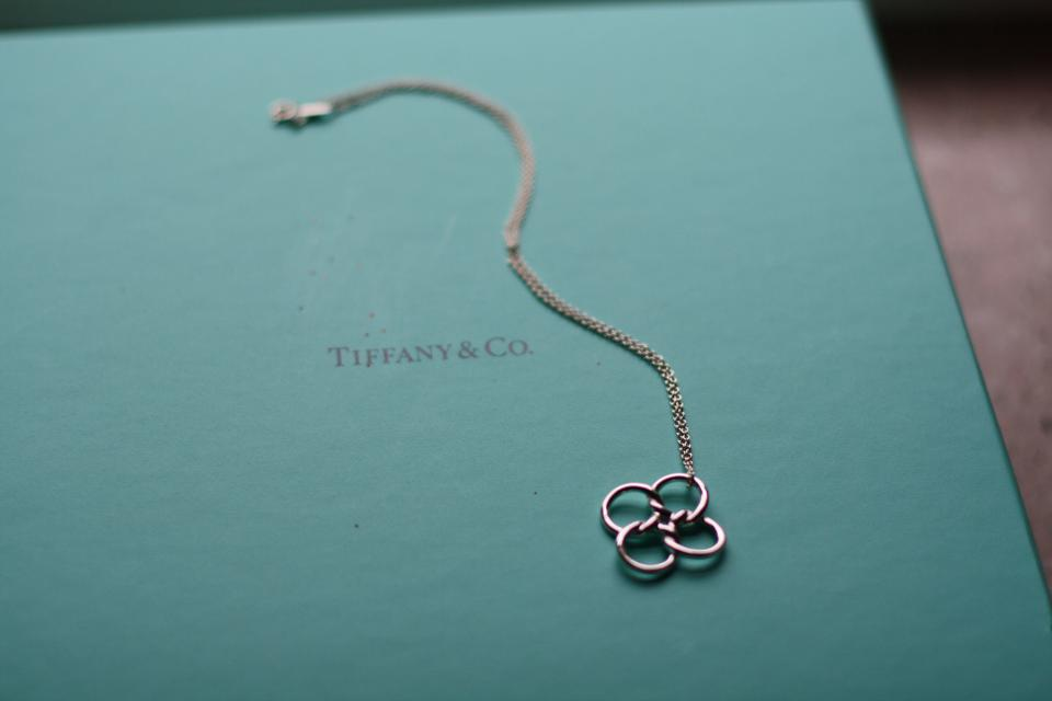 Tiffany co sterling silver 925 elsa peretti quadrifoglio sterling silver 925 elsa peretti quadrifoglio pendant necklace mozeypictures Gallery