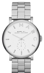 Marc by Marc Jacobs Marc By Marc Jacobs Silver Watch