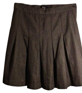 Parker Pleated Skirt Grey