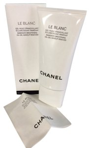 Chanel Chanel Le Blanc Immediate Brightening Oil-Gel Makeup Remover 5 Oz / 150 ml NIB