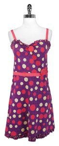 Moschino short dress Purple/Pink Cotton on Tradesy