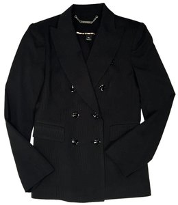 White House | Black Market Woman Women Night Out Pinstripe Blazer
