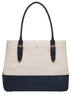Kate Spade Tote in Pebble/French Navy