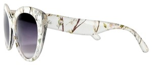 Highlights for Target. NEW with Tags Floral Patterned White Frame Oversized Sunglasses