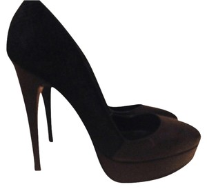 Buffalo David Bitton Black Platforms
