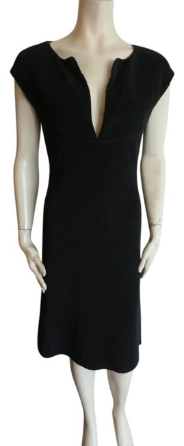 Preload https://img-static.tradesy.com/item/13942336/giorgio-armani-black-label-fully-lined-zipper-on-the-knee-length-short-casual-dress-size-8-m-0-1-650-650.jpg