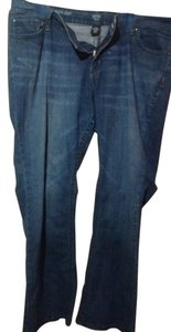 a.n.a. a new approach Boot Cut Jeans-Dark Rinse