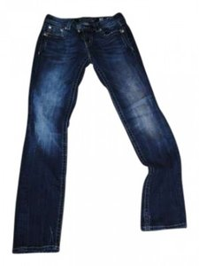 Miss Me Straight Leg Jeans-Medium Wash