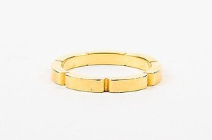 Cartier Cartier 18k Yellow Gold Maillon Panthere Wedding Bang Ring 51 34